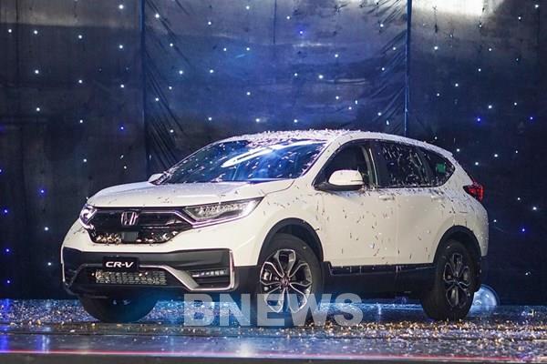 Bảng giá xe ô tô Honda tháng 10/2020, CR-V ưu đãi 100% lệ phí trước bạ