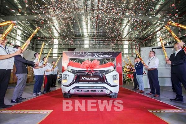 Mitsubishi Việt Nam xuất xưởng Xpander 2020 sản xuất lắp ráp trong nước