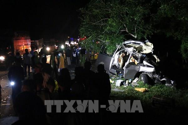 Thăm hỏi, động viên các nạn nhân vụ tai nạn giao thông ở Bình Thuận