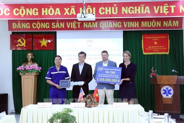 Doanh nghiệp Hoa Kỳ hỗ trợ nâng cao năng lực y tế Tp Hồ Chí Minh