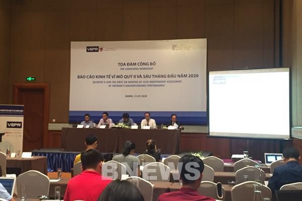 VEPR đưa ra hai kịch bản tăng trưởng kinh tế Việt Nam năm 2020