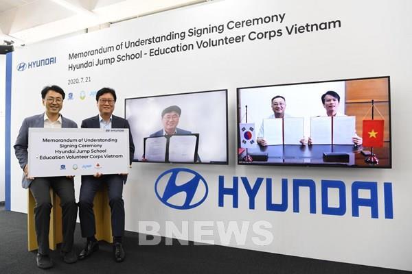 Tập đoàn ô tô Hyundai và TC MOTOR khởi động H-Jump School tại Việt Nam