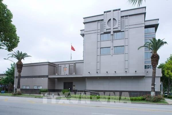 Mỹ nêu lý do yêu cầu Trung Quốc đóng cửa Tổng lãnh sự quán tại Houston