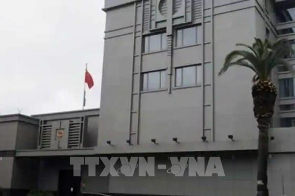 Trung Quốc xác nhận Mỹ yêu cầu nước này đóng cửa Tổng Lãnh sự quán tại Houston