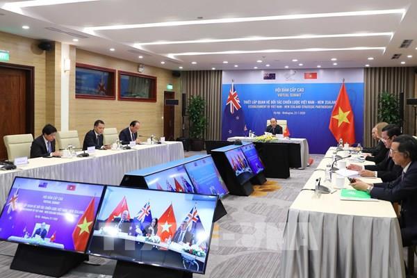 Tuyên bố chung về Quan hệ Đối tác chiến lược giữa Việt Nam và New Zealand