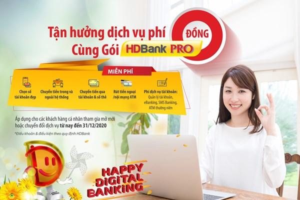 HDBank thúc đẩy thanh toán không tiền mặt