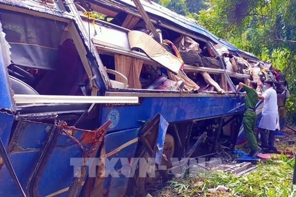 Khởi tố tài xế gây tai nạn làm 6 người chết ở Kon Tum
