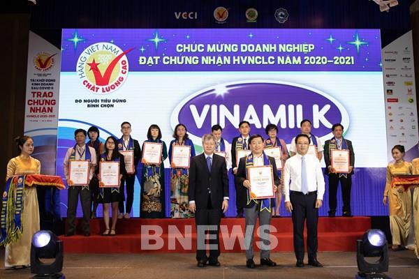 Vinamilk được đánh giá thuộc Top công ty kinh doanh hiệu quả nhất Việt Nam