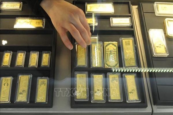 Căng thẳng Mỹ-Trung hỗ trợ đà tăng của giá vàng châu Á