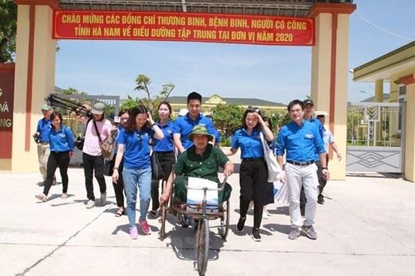 TTXVN tổ chức nhiều hoạt động nhân dịp kỷ niệm 73 năm Ngày Thương binh-Liệt sỹ