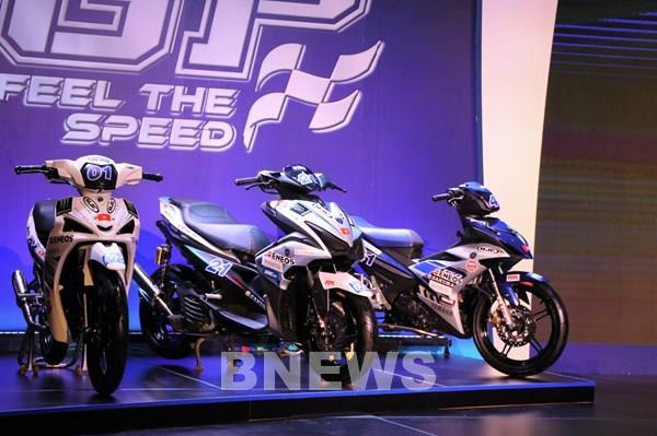 Hàng nghìn giải thưởng cho khách hàng mua xe Yamaha Exciter 150cc