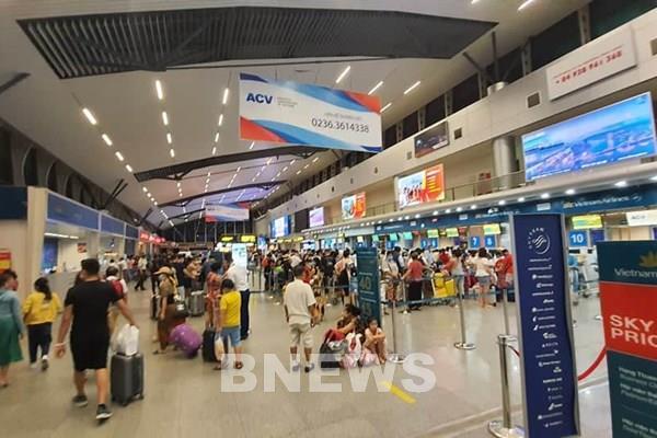 Cục Hàng không Việt Nam: Tăng tối đa chuyến bay giải toả hành khách ở Đà Nẵng