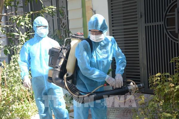 Đà Nẵng khoanh vùng, khử khuẩn tại khu dân cư BN 418