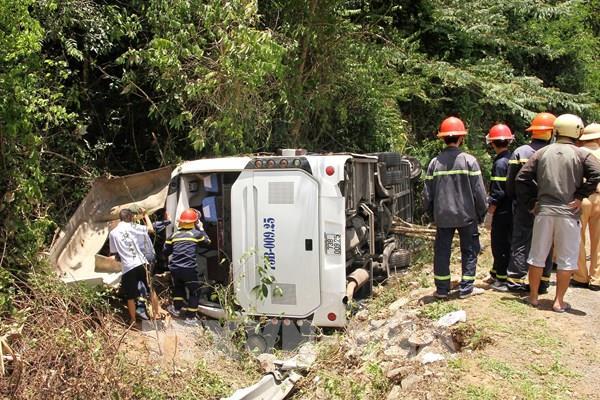 Họp báo về vụ tai nạn giao thông đặc biệt nghiêm trọng ở Quảng Bình