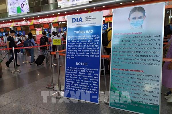 Từ 0 giờ ngày 28/7, dừng toàn bộ các chuyến bay nội địa chở khách đi hoặc đến Đà Nẵng