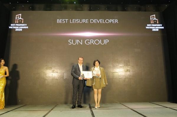 Sun Group được nhận 2 giải thưởng lớn