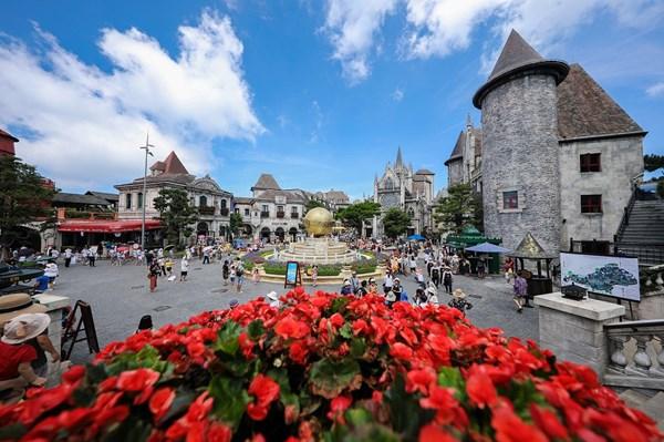 Khu du lịch Sun World Ba Na Hills mở cửa đón khách trở lại