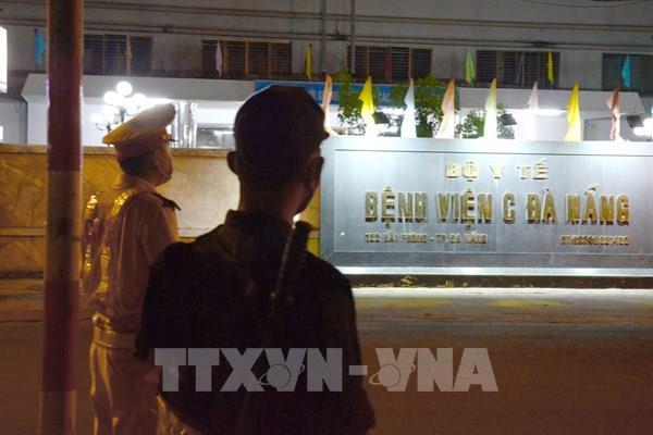 Đà Nẵng thực hiện cách ly xã hội, các phố quanh bệnh viện Đà Nẵng bị phong tỏa