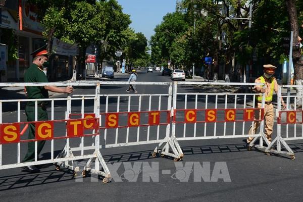 Những hình ảnh tại khu vực bị phong tỏa ở Đà Nẵng