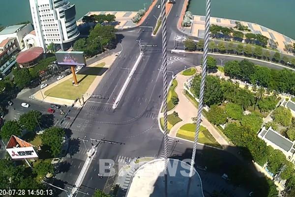 Người dân có thể xem hình ảnh trực tuyến một số tuyến đường đang phong tỏa ở Đà Nẵng  