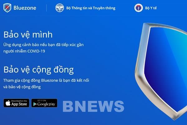 Mỗi ngày có thêm 1 triệu người Việt Nam cài đặt ứng dụng Bluezone
