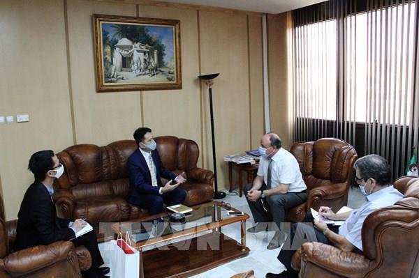 Thúc đẩy hợp tác giữa hai hãng thông tấn nhà nước Việt Nam và Algeria