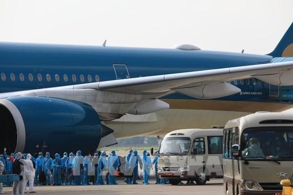 Đưa 219 công dân Việt Nam từ Guinea Xích Đạo về nước an toàn