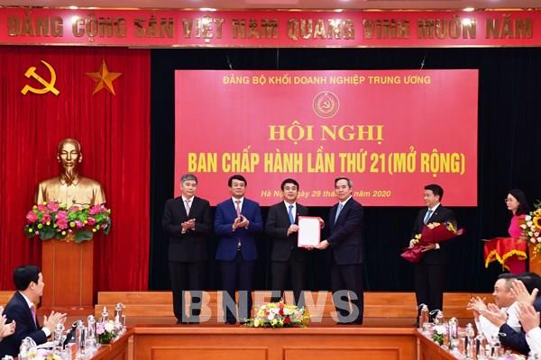 Ông Nghiêm Xuân Thành giữ chức Ủy viên Ban Thường vụ Đảng ủy Khối DNTW