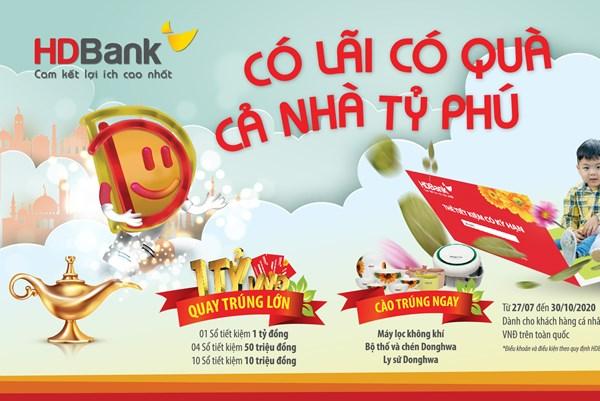 Cơ hội trở thành tỷ phú tại HDBank