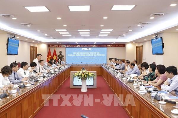 Nâng cao thông tin đối ngoại giữa TTXVN và các Cơ quan đại diện Việt Nam ở nước ngoài