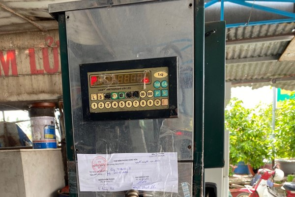 Long An xử phạt trên 150 triệu đồng trong hoạt động kinh doanh xăng dầu