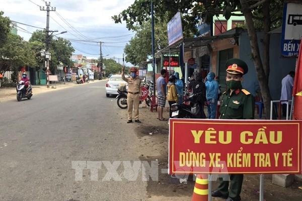 Lịch trình di chuyển của các ca mắc mới COVID-19 ở Quảng Nam
