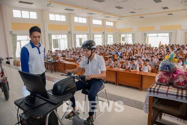 Honda Việt Nam hướng dẫn lái xe an toàn cho gần 170.00 học viên cả nước