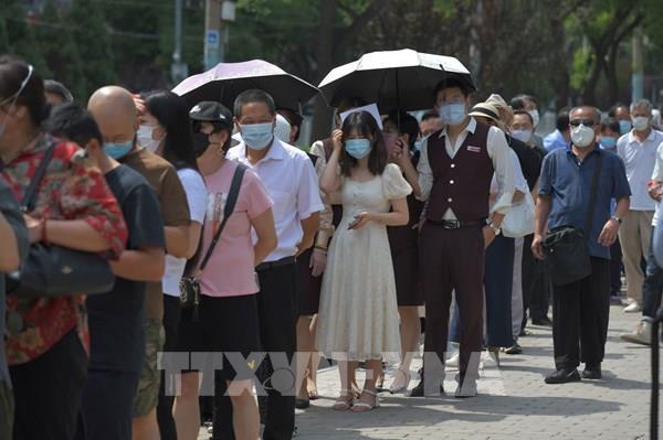 Trung Quốc đại lục có thêm 37 ca mắc COVID-19