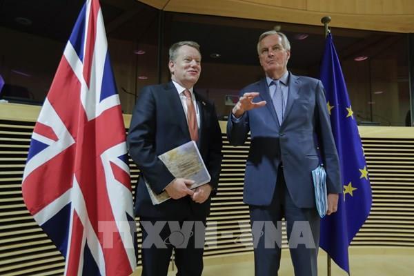Đàm phán thương mại hậu Brexit giữa Anh và EU kéo dài đến tháng 10