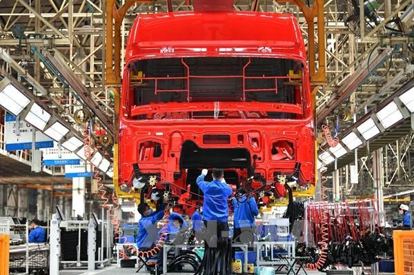 Trung Quốc công bố các số liệu kinh tế kém tích cực