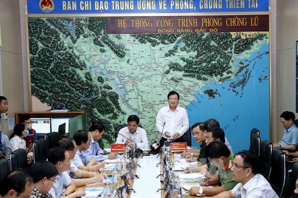 Công điện của Thủ tướng Chính phủ về tập trung ứng phó với áp thấp nhiệt đới và mưa lũ