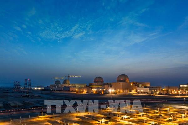 UAE vận hành nhà máy điện hạt nhân đầu tiên trong các nước Arab