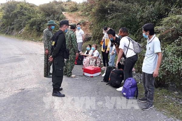 Đồn Biên phòng Si Ma Cai bắt giữ hơn 700 đối tượng nhập cảnh trái phép từ Trung Quốc