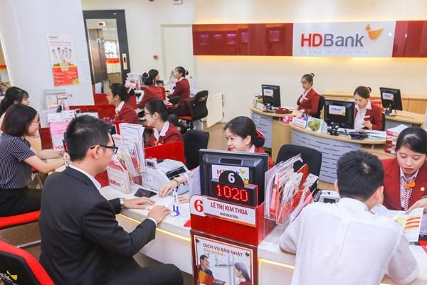 HDBank thu nhập lãi thuần tăng hơn 30%