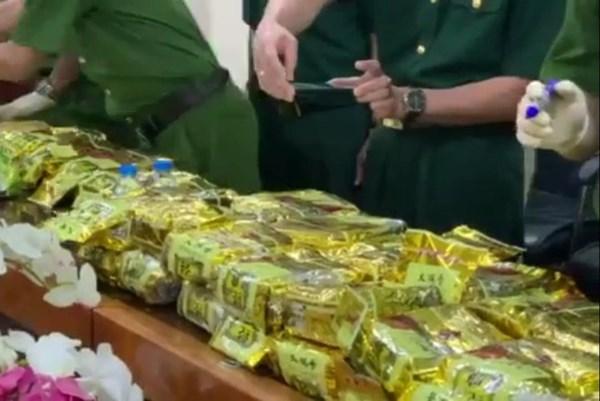 Triệt phá đường dây vận chuyển trái phép ma túy xuyên quốc gia