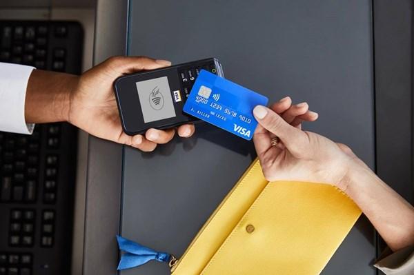 Thanh toán không tiếp xúc của Visa tăng trưởng mạnh
