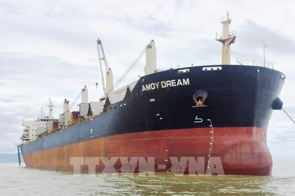 Triển khai các biện pháp phòng dịch với toàn bộ thuyền viên tàu Amoy Dream