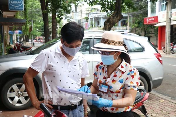 Xét nghiệm nhanh cư dân trong khu vực phong tỏa của Buôn Ma Thuột