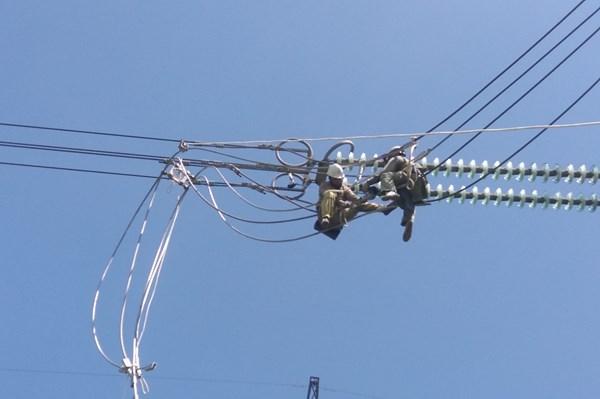 Quảng Bình hoàn thành kế hoạch sửa chữa đường dây 500 kV