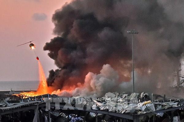Vụ nổ ở Beirut: Có một công dân Việt Nam bị thương