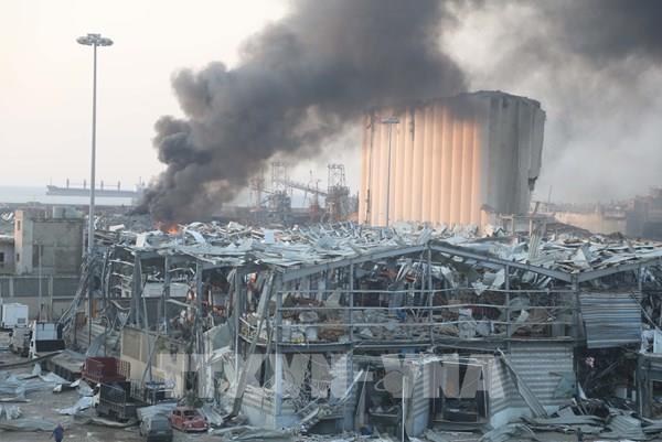 Vụ nổ ở Beirut: Xác định thêm người mất tích