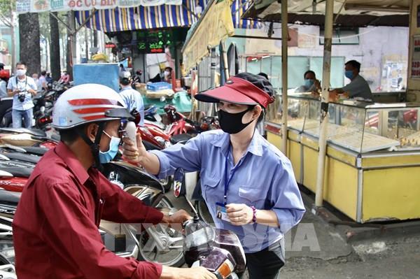 Tp Hồ Chí Minh xử phạt 841 trường hợp không đeo khẩu trang nơi công cộng