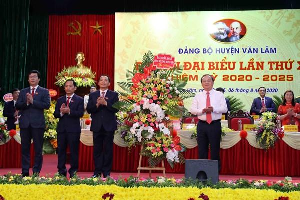 Văn Lâm (Hưng Yên) phấn đấu thành huyện công nghiệp và đô thị loại 3 vào năm 2025