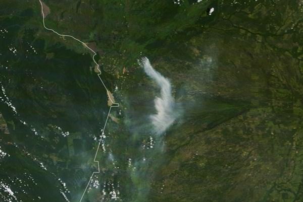 Số vụ hoả hoạn cao kỷ lục tại vùng đầm lầy lớn nhất thế giới